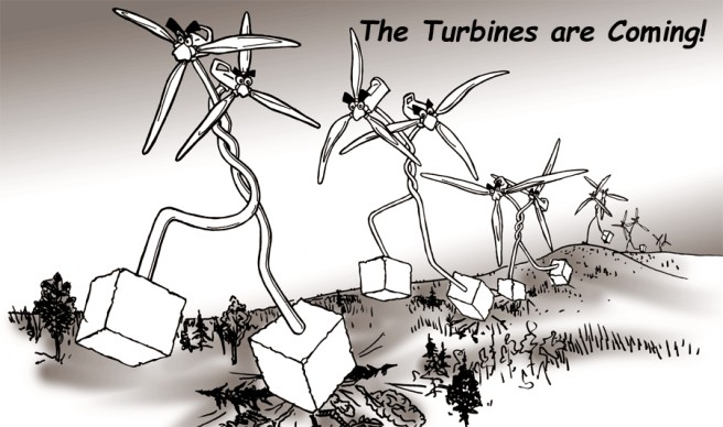 The Turbines are Coming!